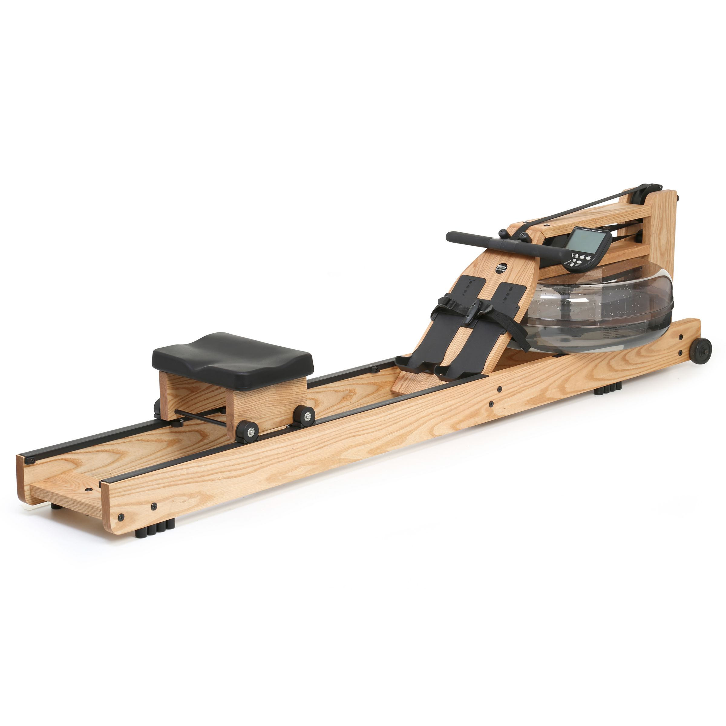 Water Rower WaterRower Natural Rowing Machine with S4 Performance Monitor, Ash