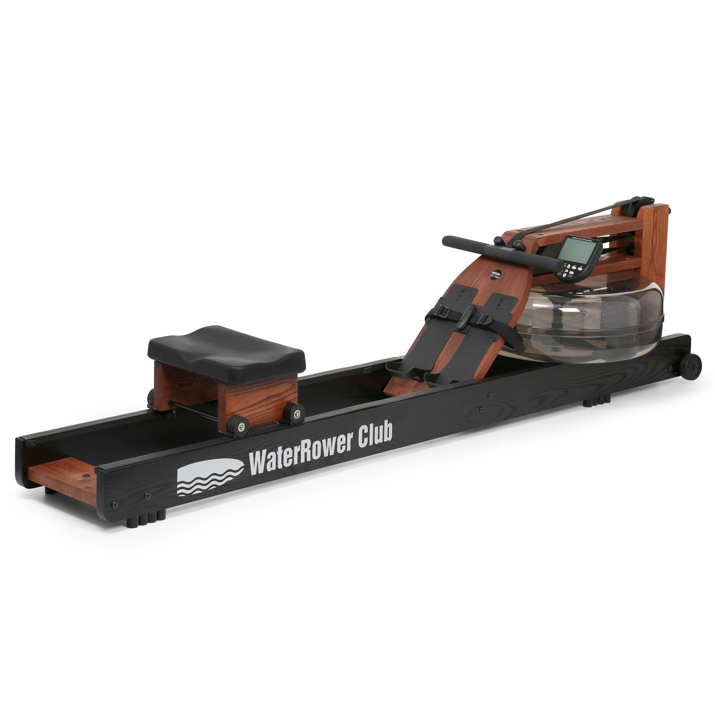 Water Rower WaterRower Club Rowing Machine with S4 Performance Monitor