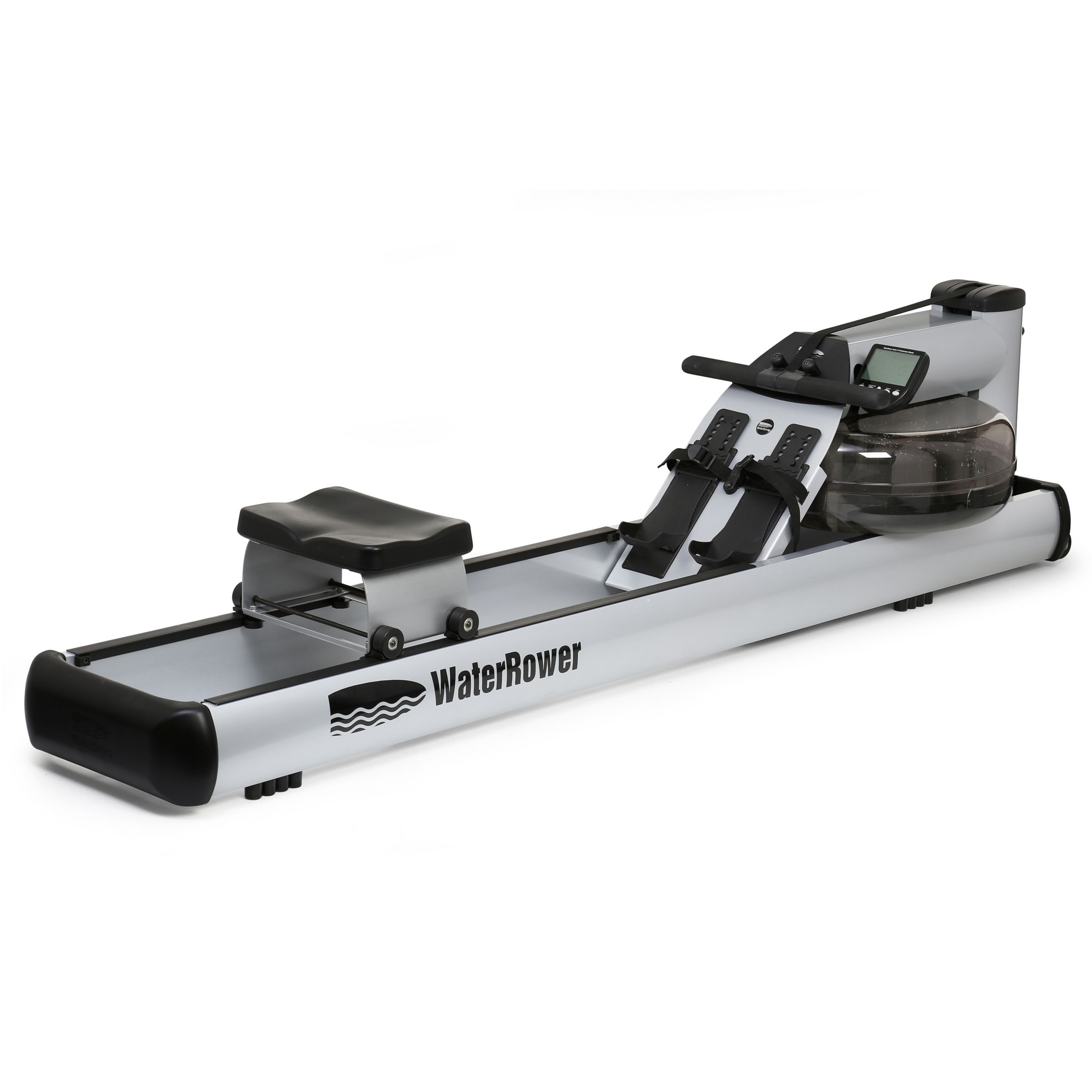 Water Rower WaterRower M1 LoRise Rowing Machine with S4 Performance Monitor
