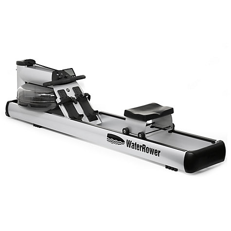Buy WaterRower M1 LoRise Rowing Machine with S4 Performance Monitor Online at johnlewis.com