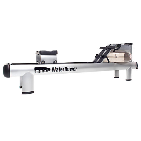 Buy WaterRower M1 HiRise Rowing Machine with S4 Performance Monitor Online at johnlewis.com