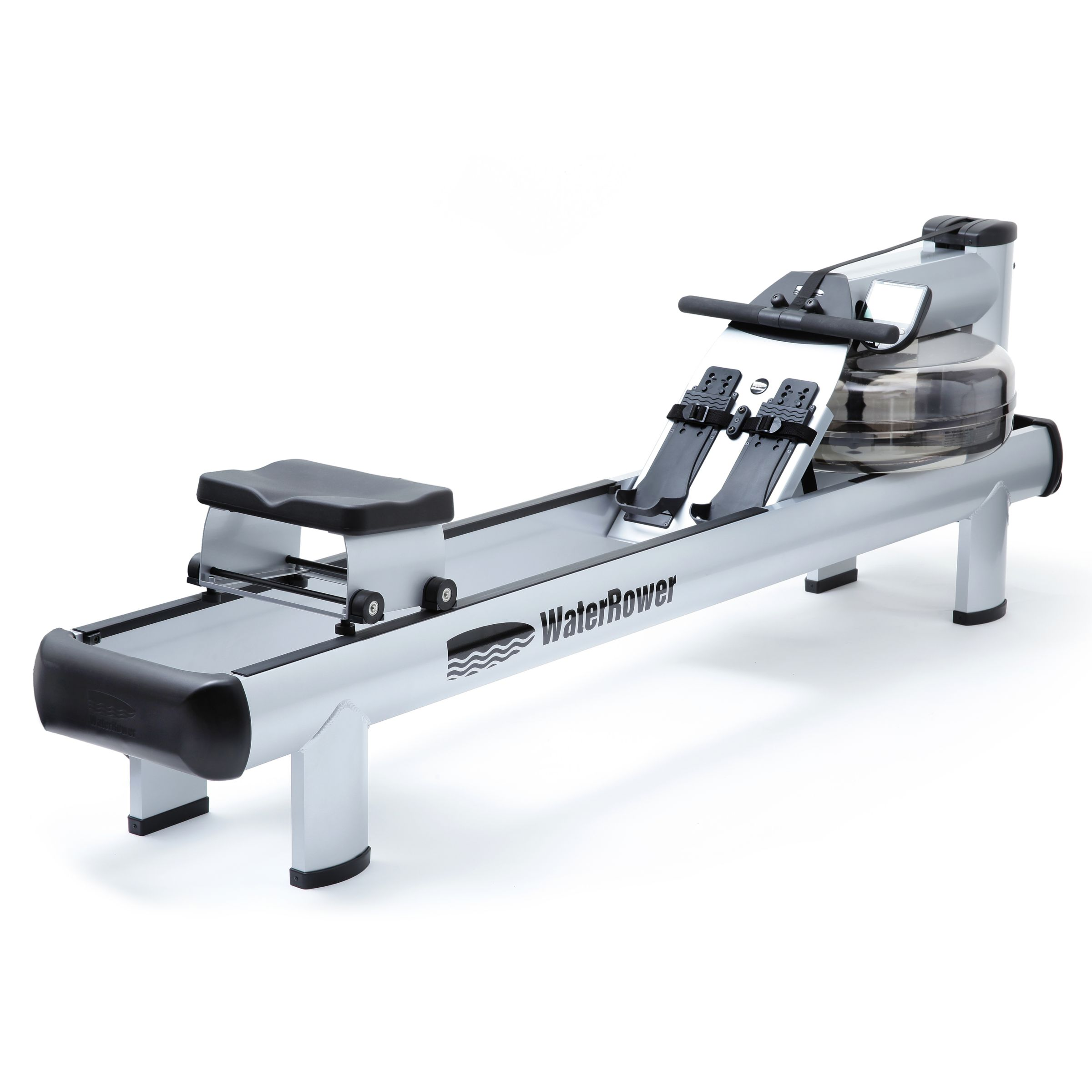 Water Rower WaterRower M1 HiRise Rowing Machine with S4 Performance Monitor