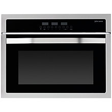 Buy John Lewis JLBIC02 Built-in Combination Microwave, Stainless Steel Online at johnlewis.com