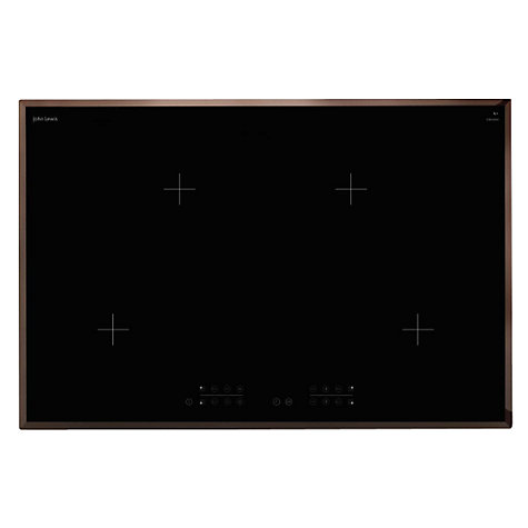 Buy John Lewis JLBIIH804 Ceramic Induction Hob, Black Online at johnlewis.com