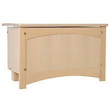 Buy Sophia Blanket Box, Natural Online at johnlewis.com