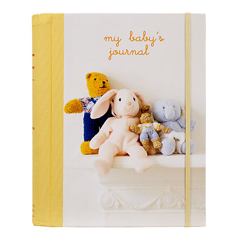 Buy Baby Journal Online at johnlewis.com