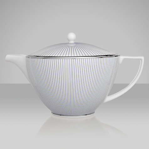 Buy Jasper Conran for Wedgwood Pinstripe Teapot, 1.2L Online at johnlewis.com