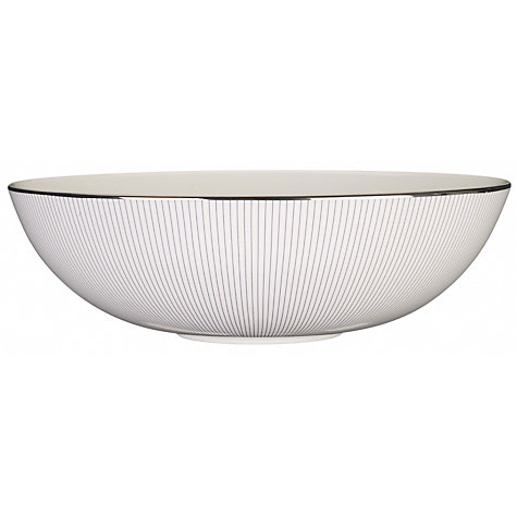 Buy Jasper Conran for Wedgwood Pinstripe Oval Serving Bowl Online at johnlewis.com
