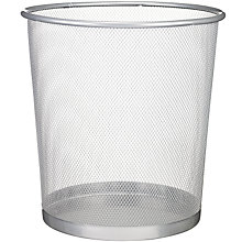 Buy Osco Mesh Wastepaper Bin, Large Online at johnlewis.com