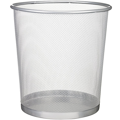 Buy Mesh Wastepaper Bin, Large Online at johnlewis.com