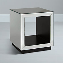 Buy John Lewis Astoria Mirrored Cube Side Tables Online at johnlewis.com