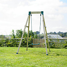 Buy TP Forest Single Wooden Swing Set Online at johnlewis.com