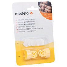 Buy Medela Breast Pump Replacement Valve and Membranes, 2 Pack Online at johnlewis.com