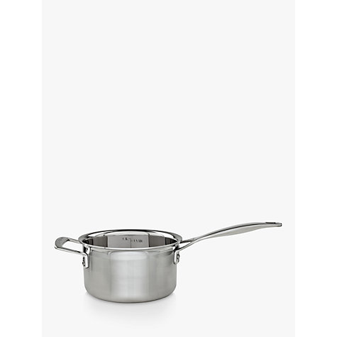 Buy Le Creuset 3-Ply Lidded Saucepans Online at johnlewis.com