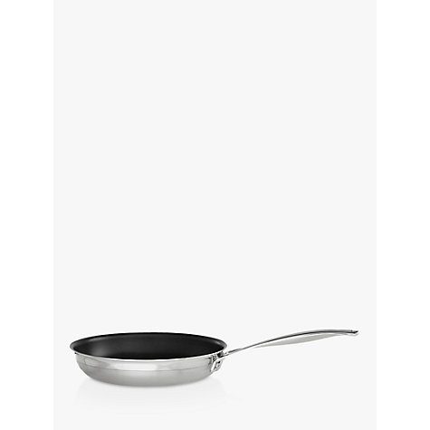 Buy Le Creuset 3-Ply Stainless Steel Fry Pan, 24cm Online at johnlewis.com
