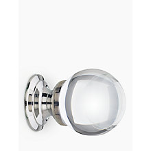 Buy John Lewis Glass Cupboard Knob, Dia.30mm Online at johnlewis.com