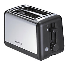 Buy Kenwood TTM320 Toaster, 2-Slice, Polished Steel Online at johnlewis.com