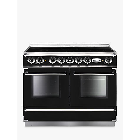 Buy Falcon Continental 1092 EIBL/C-EU Induction Hob Range Cooker, Black Online at johnlewis.com