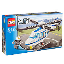 Buy Lego City Police Helicopter Online at johnlewis.com