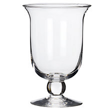Buy Glass Hurricane Lamp, 22cm Online at johnlewis.com