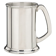 Buy Pewter Tankard, Straight-Sided, 568ml Online at johnlewis.com