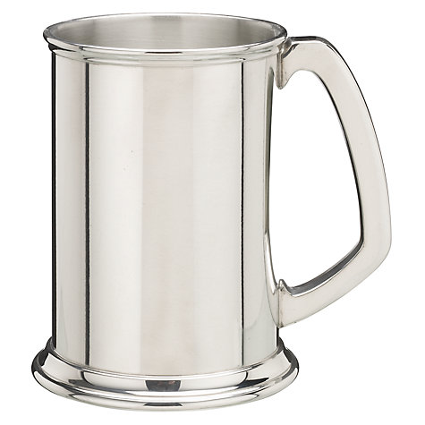 Buy Pewter Tankard, Straight-Sided Online at johnlewis.com