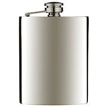 Buy John Lewis Pewter Hip Flask Online at johnlewis.com