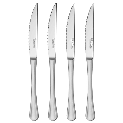 Robert Welch RW2 Satin Steak Knives, 4 Piece