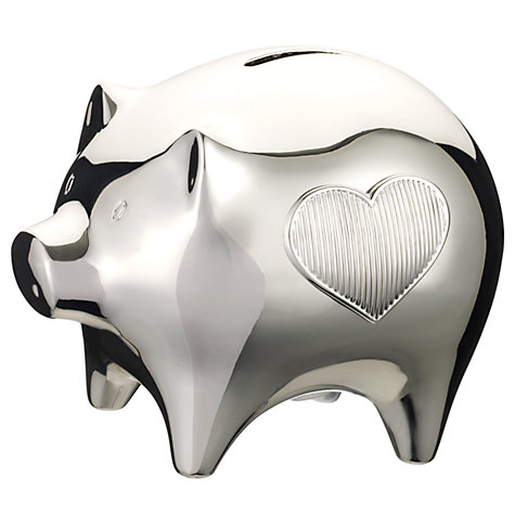Buy Vera Wang for Wedgwood Baby Collection Piggy Bank Online at johnlewis.com