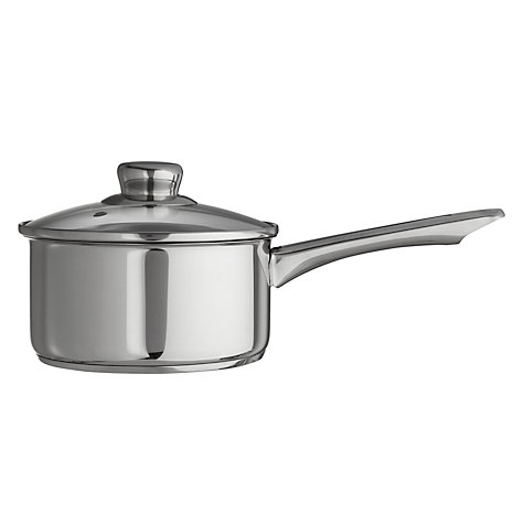 Buy John Lewis Shine Saucepan Set, 5 Piece Online at johnlewis.com