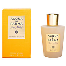 Buy Acqua di Parma Iris Nobile Bath Gel, 200ml Online at johnlewis.com