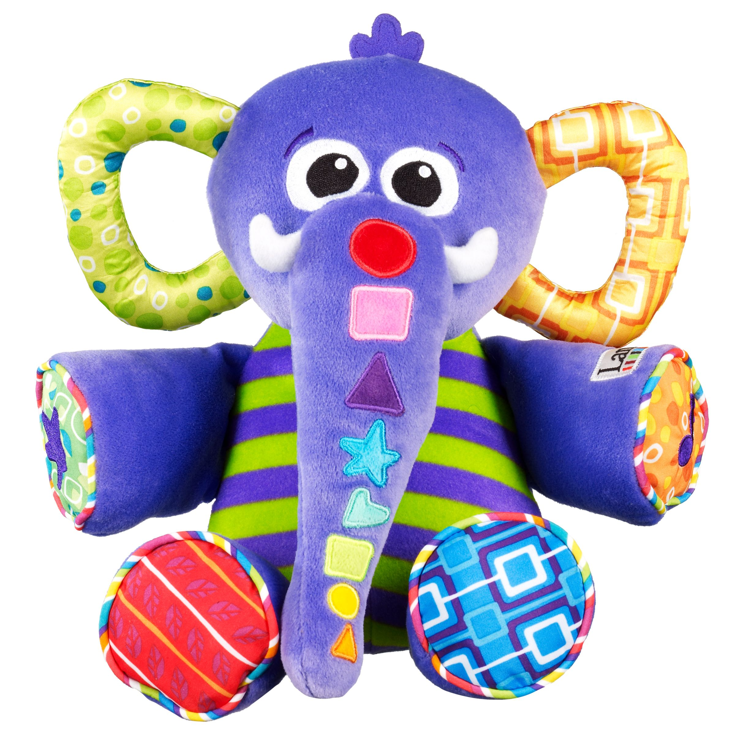 eddie the elephant The entire range of lamaze toys and lamaze baby toys the lamaze eddie the elephant tunes toy is packed full with education for your child's development and skills.