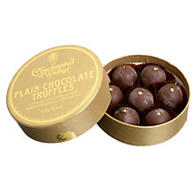 Buy Charbonnel et Walker Plain Chocolate Truffles, 115g Online at johnlewis.com