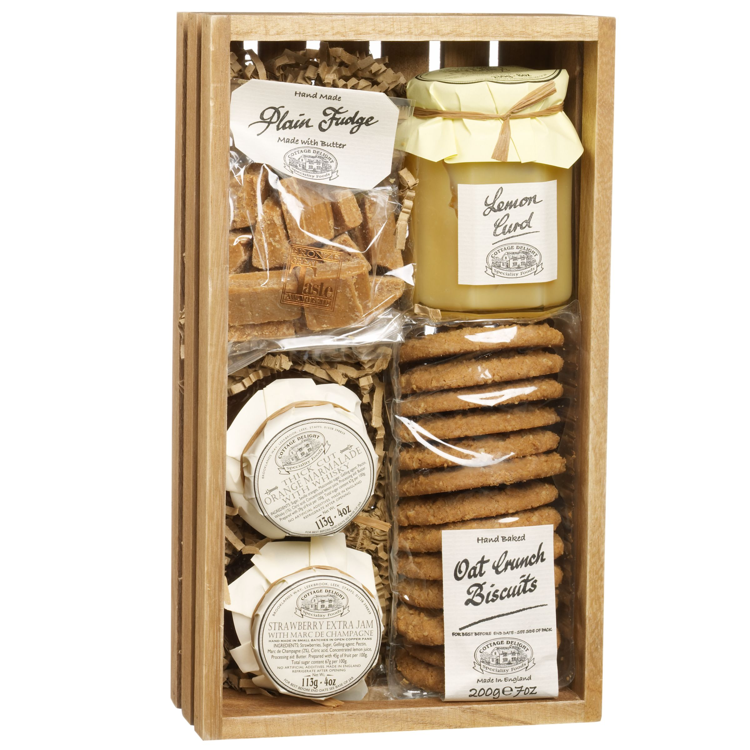 Cottage Delight Sweet Hamper, 756g