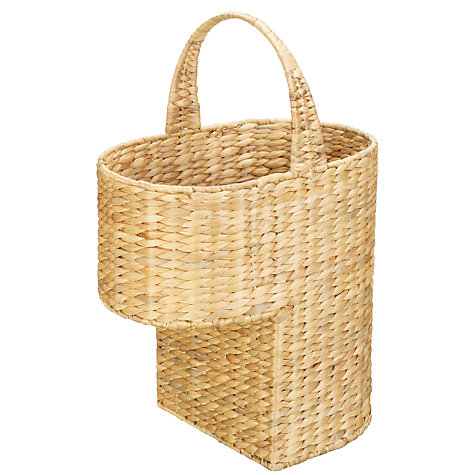 Buy John Lewis Water Hyacinth Stair Basket Online at johnlewis.com