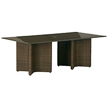 Buy Barlow Tyrie Savannah Rectangular 8 Seater Synthetic Wicker Outdoor Dining Table Online at johnlewis.com