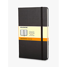 Buy Moleskine Ruled Notebook Online at johnlewis.com