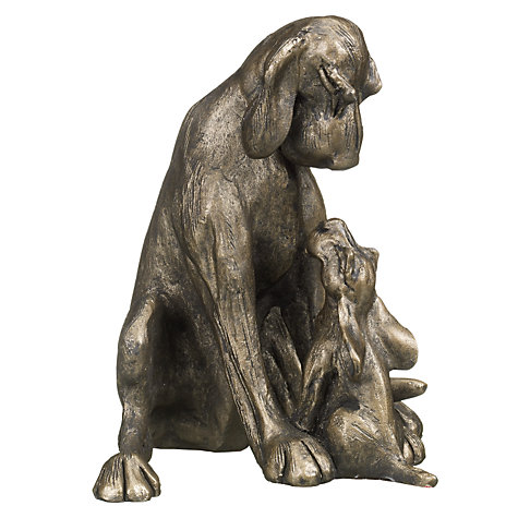 Buy Frith Sculpture Amber and Pup, by Harriet Dunn Online at johnlewis.com