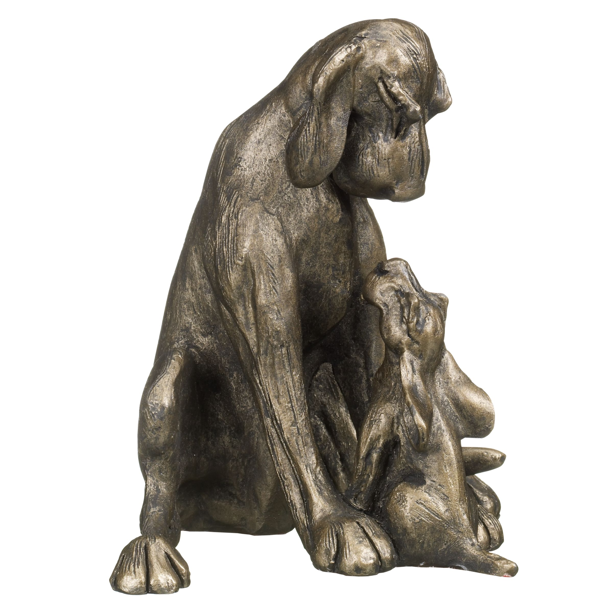 Frith Sculpture Amber and Pup, by Harriet Dunn