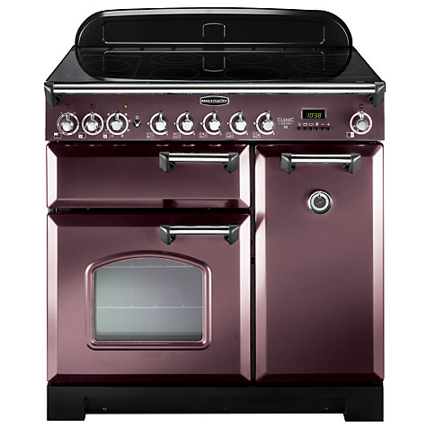 Buy Rangemaster Classic Deluxe 90 Electric Range Cooker, Taupe/Chrome Trim Online at johnlewis.com