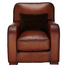 Buy Tetrad Totnes Leather Armchair Online at johnlewis.com