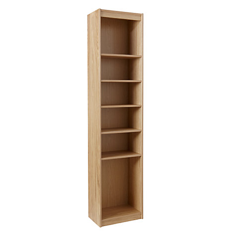 Buy John Lewis Agatha Tall Narrow Bookcase Oak John Lewis