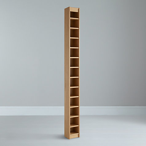 Buy John Lewis Agatha CD Tower, Oak Online at johnlewis.com