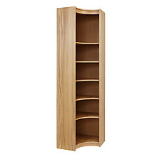 Buy John Lewis Agatha Inside Corner Unit, Oak Online at johnlewis.com
