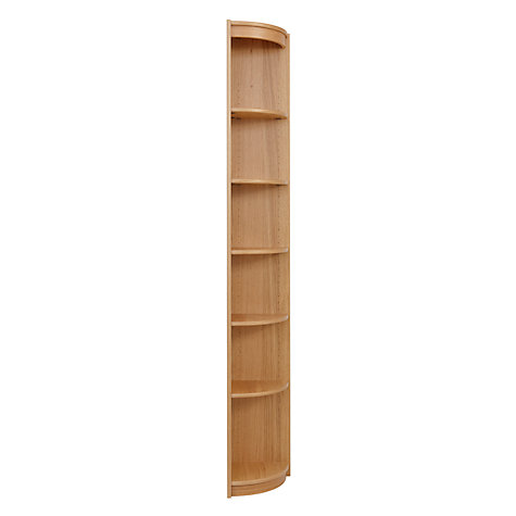 Buy John Lewis Agatha Outside Corner Unit, Oak Online at johnlewis.com