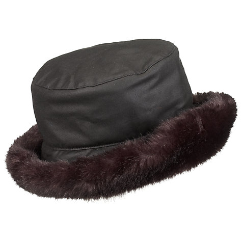 Buy Olney Wax and Fur Underbrim Hat Online at johnlewis.com