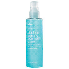 Buy Bliss Fabulous Foaming Face Wash, 197ml Online at johnlewis.com