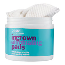 Buy Bliss Ingrown Hair Eliminating Peeling Pads Online at johnlewis.com