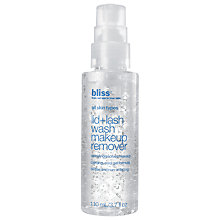 Buy Bliss Lid & Lash Wash, 110ml Online at johnlewis.com