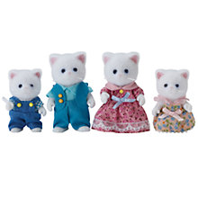 Buy Sylvanian Families Persis Persian Cat Family Online at johnlewis.com